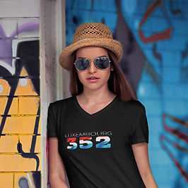 Luxembourg 352 Womens T-Shirt