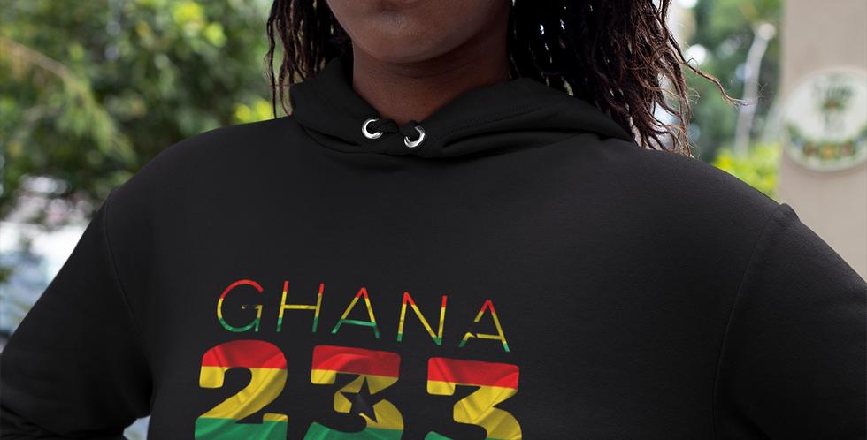 Ghana Womens Pullover Hoodie