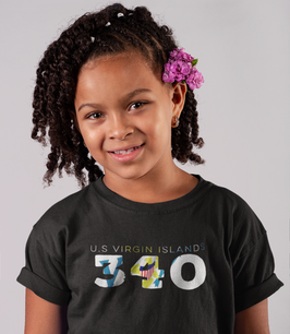 U.S Virgin Islands 340 Childrens T-Shirt