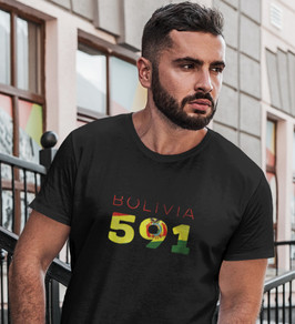 Bolivia 591 Mens T-Shirt