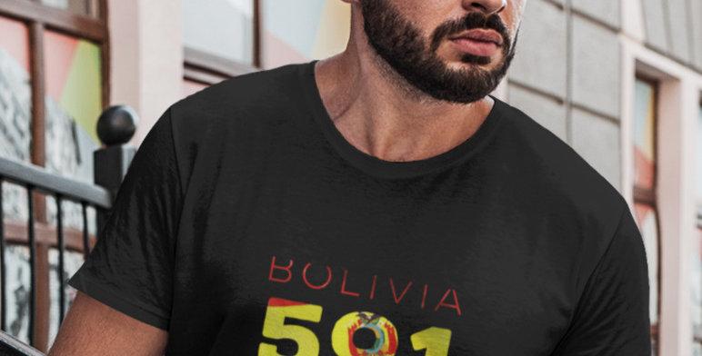 Bolivia Mens T-Shirt
