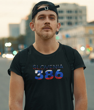 Slovenia 386 Mens T-Shirt