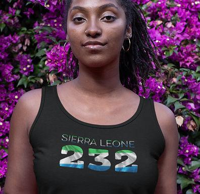 Sierra Leone 232 Womens Vest