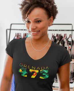 Grenada 473 Womens T-Shirt
