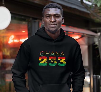 Ghana 233 Mens Pullover Hoodie