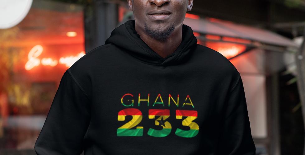 Ghana Mens Pullover Hoodie