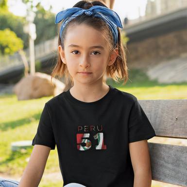 Peru Childrens T-Shirt