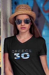 Greece 30 Womens T-Shirt