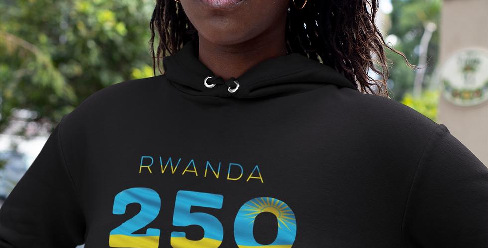 Rwanda Womens Pullover Hoodie