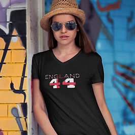 England 44 Womens T-Shirt