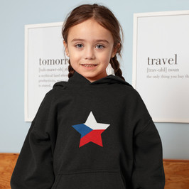 Czech Republic Childrens Hoodie