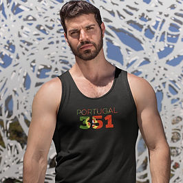Portugal 351 Mens Tank Top