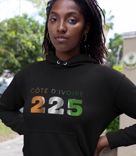 Côte d'Ivoire 225 Women's Pullover Hoodie