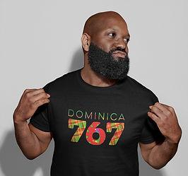 Dominica 767 Mens T-shirt
