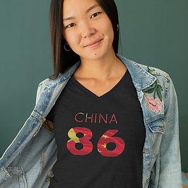 China 86 Womens T-Shirt