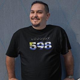 Uruguay 598 Mens T-Shirt