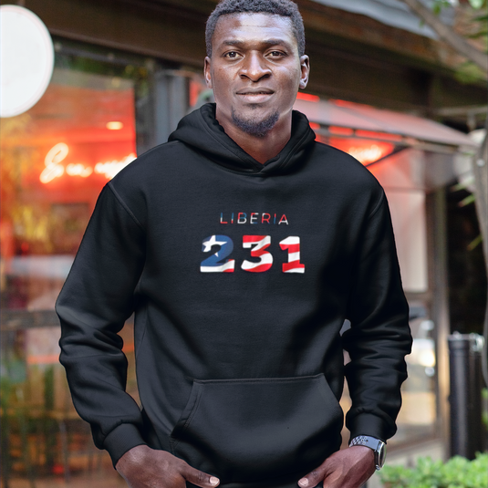 Liberia 231 Men's Pullover Hoodie