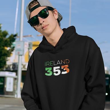 Ireland 353 Mens Pullover Hoodie