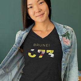 Brunei 673 Womens T-Shirt