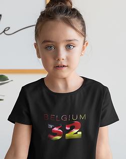 Belgium Childrens T-Shirt