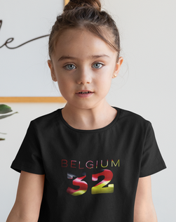 Belgium 32 Childrens T-Shirt