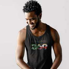 Comoros 269 Mens Tank Top