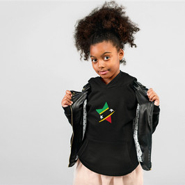St Kitts & Nevis Childrens Hoodie