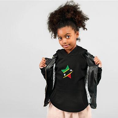 St Kitts & Nevis Childrens Hoodie