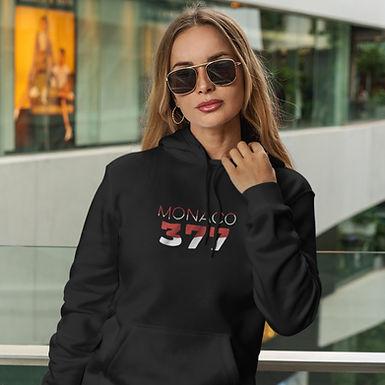 Monaco 377 Womens Pullover Hoodie