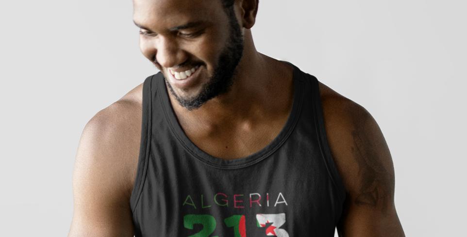 Algeria Mens Tank Top