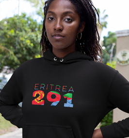 Eritrea 291 Womens  Pullover Hoodie