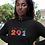 Eritrea Womens Black Hoodie