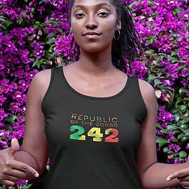 Republic of the Congo 242 Womens Vest