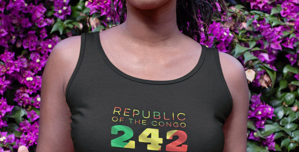 Republic of the Congo Womens Vest Tank Top