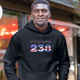 Cape Verde 238 Men's Pullover Hoodie