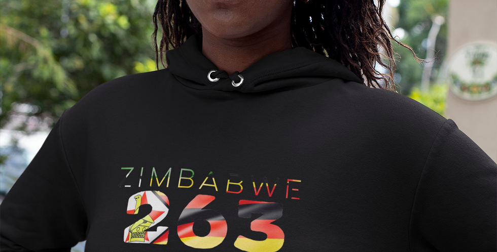 Zimbabwe Womens Pullover Hoodie