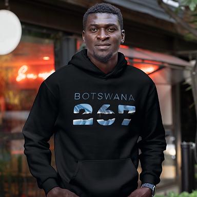 Botswana 267 Men's Pullover Hoodie