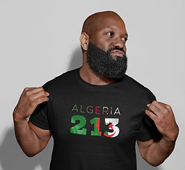 Algeria 213 Mens T-Shirt
