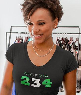 Nigeria 234 Women's T-Shirt