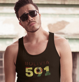 Bolivia 591 Mens Tank Top