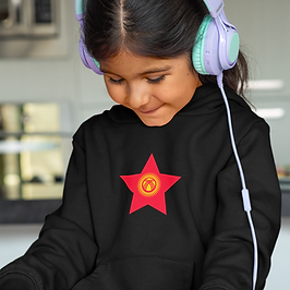 Kyrgyzstan Childrens Hoodie