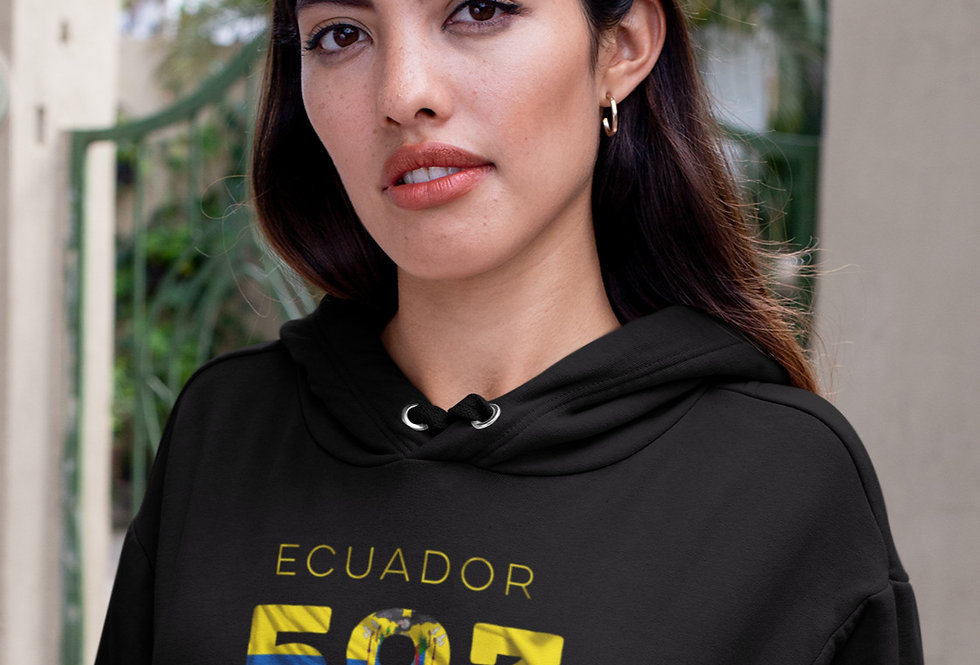 Ecuador Womens Pullover Hoodie