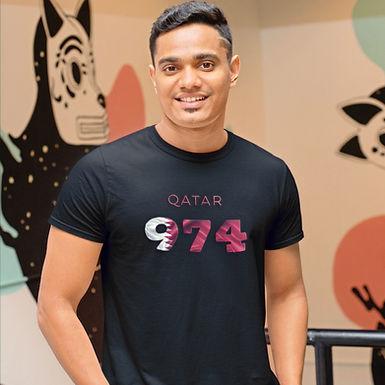 Qatar 974 Mens T-Shirt