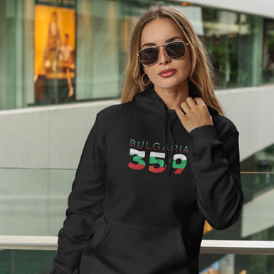 Bulgaria 359 Womens Pullover Hoodie