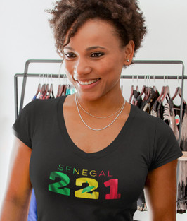 Senegal 221 Womens T-Shirt