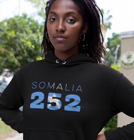 Somalia 252 Women's Pullover Hoodie
