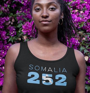 Somalia 252 Womens Vest