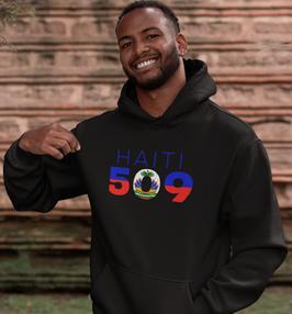 Haiti 509 Mens Pullover Hoodie