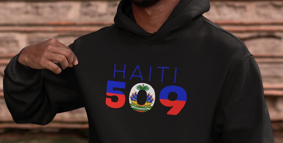 Haiti Mens Pullover Hoodie