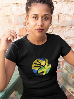 Barbados & Jamaica Dual Womens T-Shirt